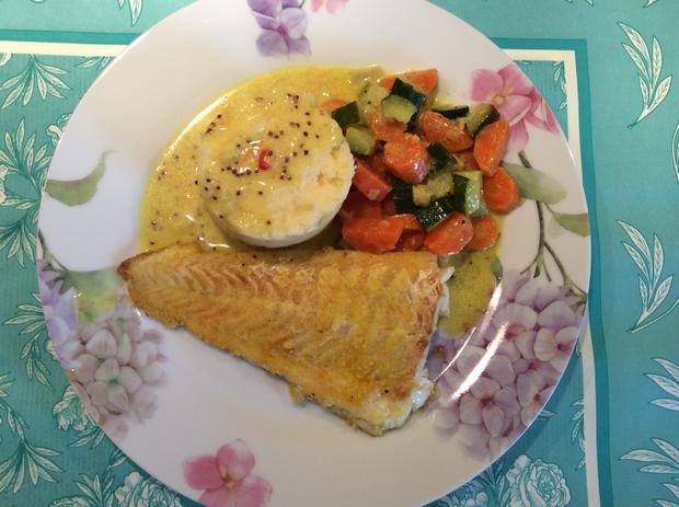 Möhren-Zuccini-Gemüse in Kokossoße - Rezept - Bild Nr. 4992