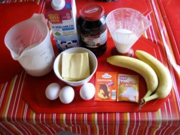 Kirsch Bananen Kuchen - Rezept - Bild Nr. 2