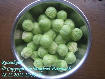 Rezept: Gemüse – Rosenkohltöpfla Zwivveltreter Art