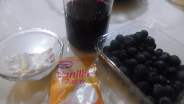 Ombre-Cheese-Cake mit Blaubeeren ohne Backen - Rezept - Bild Nr. 5006