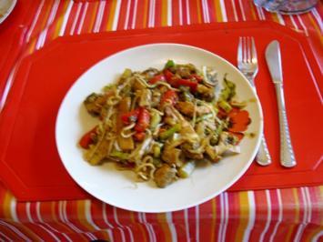 Rezept: Mittagessen aus dem Wok
