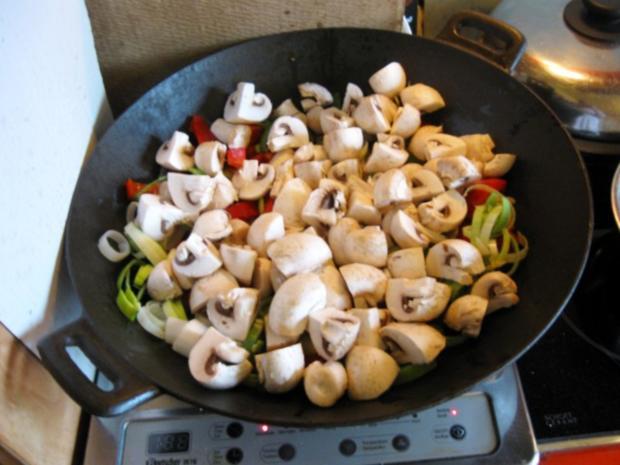Mittagessen aus dem Wok - Rezept - Bild Nr. 5007