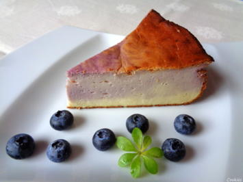 Rezept: Kleiner Heidelbeer - Käse - Kuchen ...