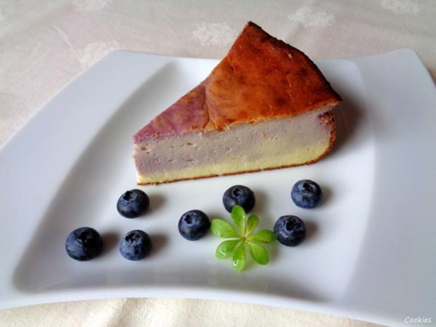 Kleiner Heidelbeer - Käse - Kuchen ... - Rezept - Bild Nr. 5005