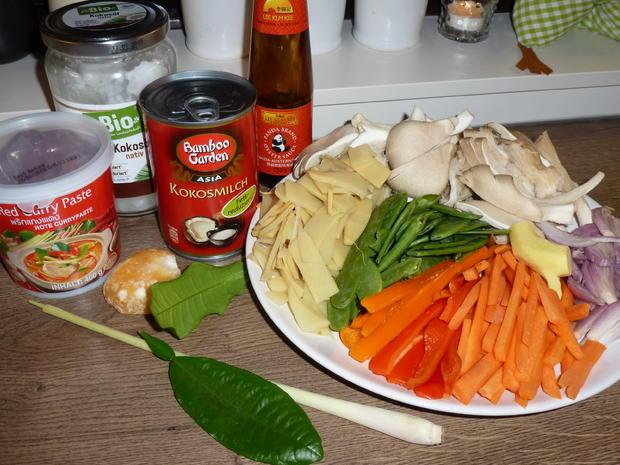 Entenbrust mit Austernpilzen & Gemüse - Rezept - Bild Nr. 5009