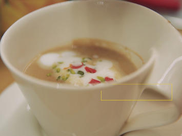 Zefix-Marone-Trüffel-Suppe - Rezept - Bild Nr. 2