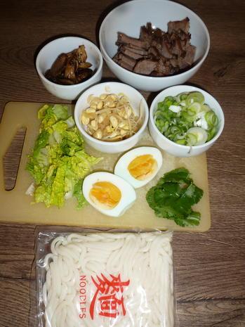 Rindfleischsuppe mit Udon-Nudeln - Rezept - Bild Nr. 5022