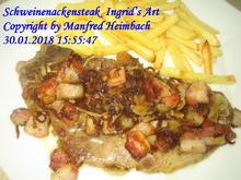 Fleisch – Schweinenackensteaks Ingrid's Art - Rezept - Bild Nr. 5016