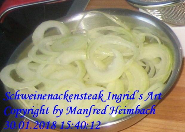 Fleisch – Schweinenackensteaks Ingrid's Art - Rezept - Bild Nr. 5019