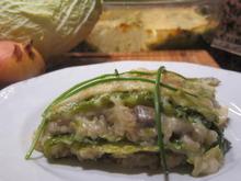 Gemüse: Wirsing-Lasagne - Rezept - Bild Nr. 5029