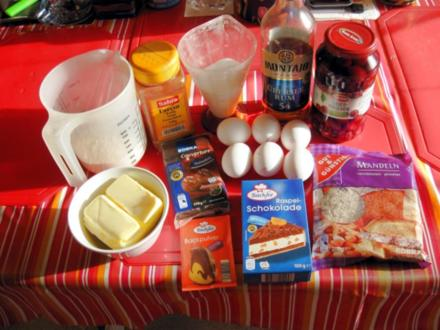 Schoko - Kirsch - Kuchen mit Rum - Rezept - Bild Nr. 5027
