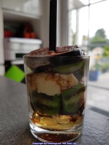 Minikiwi`s mit etwas Spritzigem und Cremigem und Wackelpudding - Rezept - Bild Nr. 5031