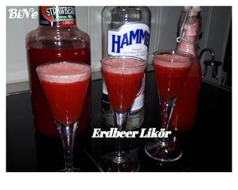 Rezept: BiNe` S ERDBEER - LIKÖR
