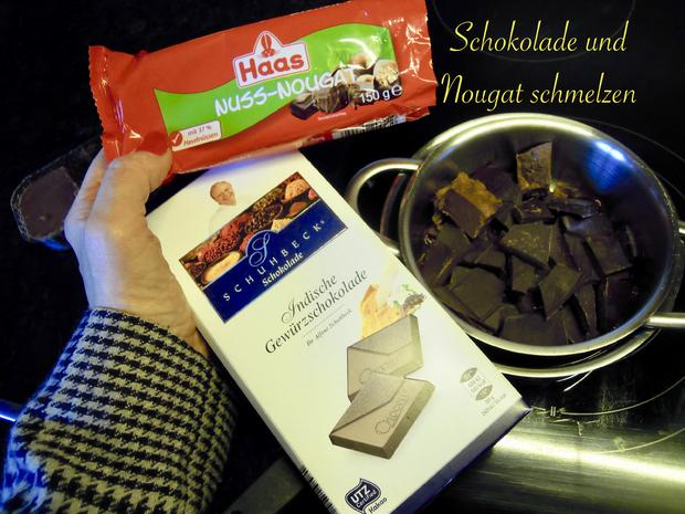Rumpflaumen Schoki's - Rezept - Bild Nr. 5034