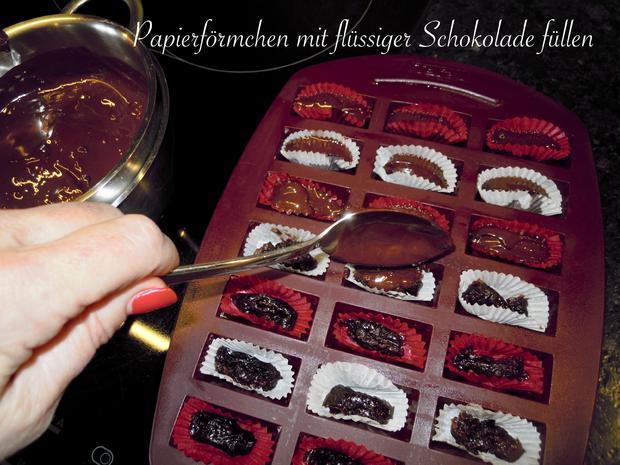 Rumpflaumen Schoki's - Rezept - Bild Nr. 5035
