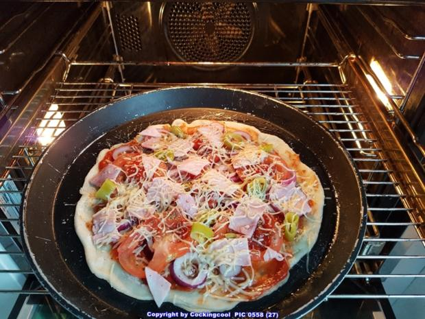 Pizza Studiooso (Pizza backen nach/mit Bilderrezept) - Rezept - Bild Nr. 5124
