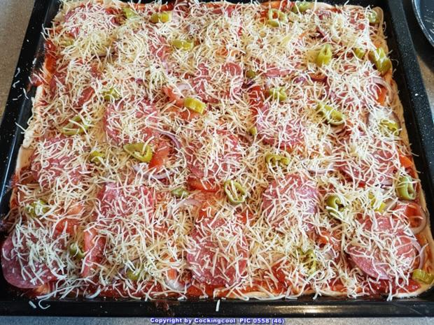 Pizza Studiooso (Pizza backen nach/mit Bilderrezept) - Rezept - Bild Nr. 5138