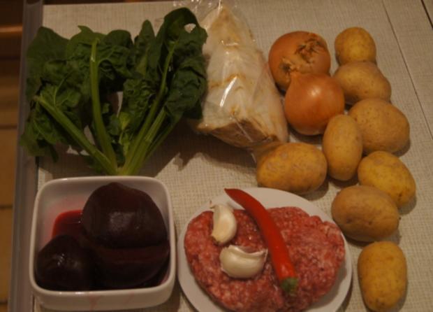 Ampel-Kartoffelstampf mit pikanter Hackfleischsauce - Rezept - Bild Nr. 3