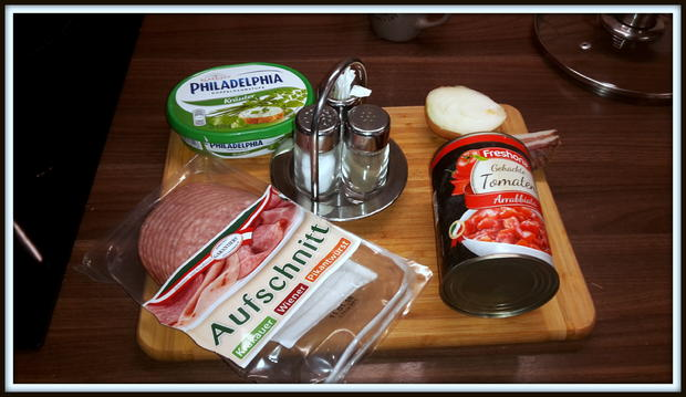 Spaghetti mit Wurst-Speck-Tomatenpaprika Soße - Rezept - Bild Nr. 5149