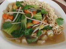Gemüsesuppe mit Pak Choi - Rezept - Bild Nr. 5146