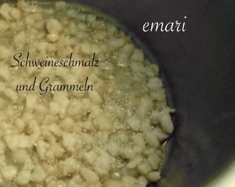 Schweineschmalz und Grammeln/Grieben selber herstellen - Rezept - Bild Nr. 5159