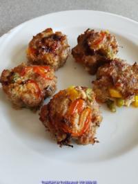 Fleisch / Hackfleisch = Rosenmontagssnack Frikadellen aus dem Ofen à la Biggi - Rezept - Bild Nr. 5158