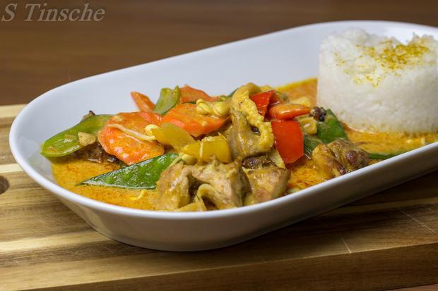 Thai-Hähnchen-Curry - Rezept mit Bild - kochbar.de