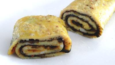 Rezept: Omelett mit Nori-Algen