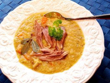 Eintopf aus Gelben Linsen mit Entenfleisch - Rezept - Bild Nr. 5157