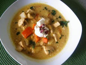 Curry- Hähnchen- Eintopf - Rezept - Bild Nr. 5157