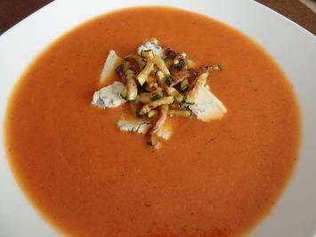 Gorgonzola-Tomatensuppe - Rezept - Bild Nr. 5157
