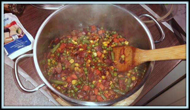 Strudel mit Speck-Gemüse-Schafskäsfüllung - Rezept - Bild Nr. 5159