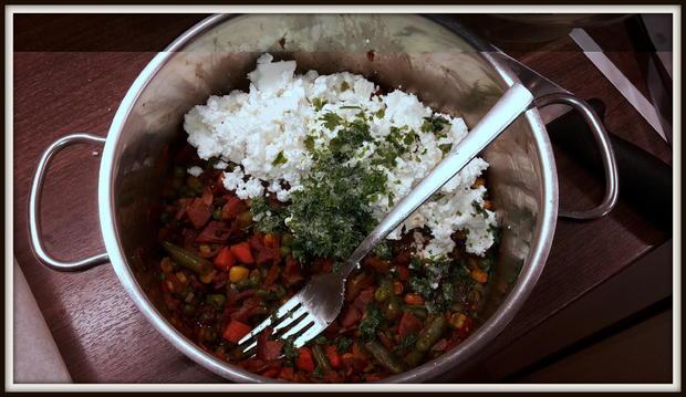 Strudel mit Speck-Gemüse-Schafskäsfüllung - Rezept - Bild Nr. 5160