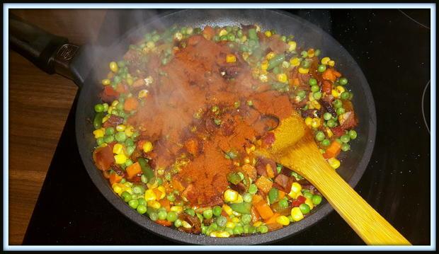 Strudel mit Speck-Gemüse-Schafskäsfüllung - Rezept - Bild Nr. 5163