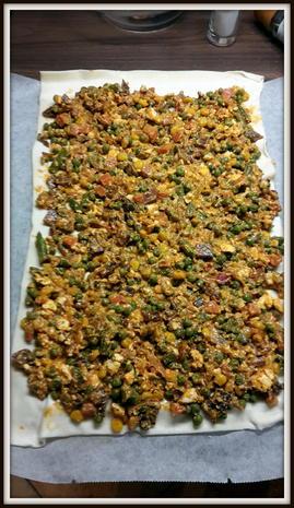 Strudel mit Speck-Gemüse-Schafskäsfüllung - Rezept - Bild Nr. 5164