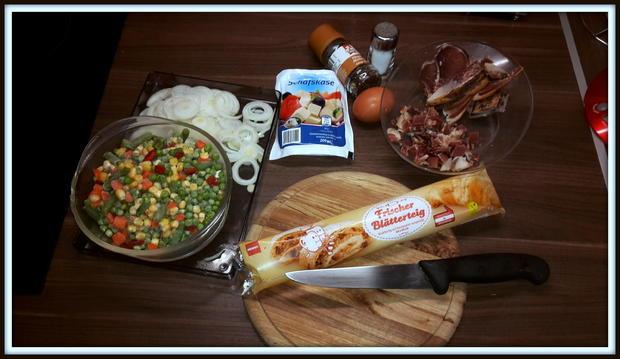 Strudel mit Speck-Gemüse-Schafskäsfüllung - Rezept - Bild Nr. 5167