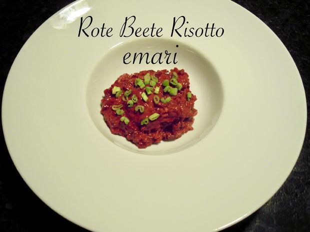 Risotto von der roten Rübe bzw. rote Beete - Rezept - Bild Nr. 5164
