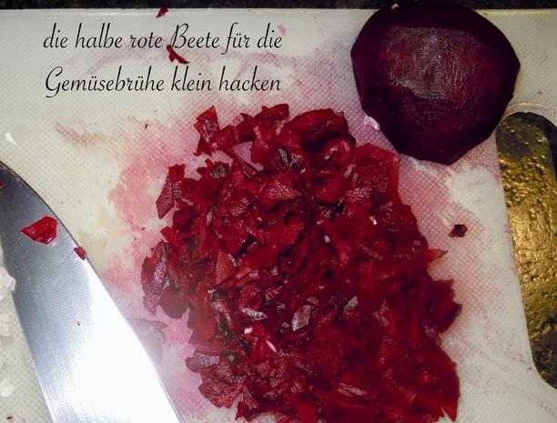 Risotto von der roten Rübe bzw. rote Beete - Rezept - Bild Nr. 5166