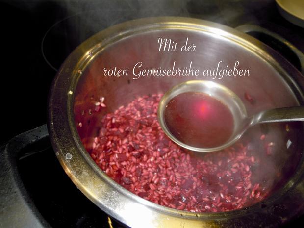 Risotto von der roten Rübe bzw. rote Beete - Rezept - Bild Nr. 5174