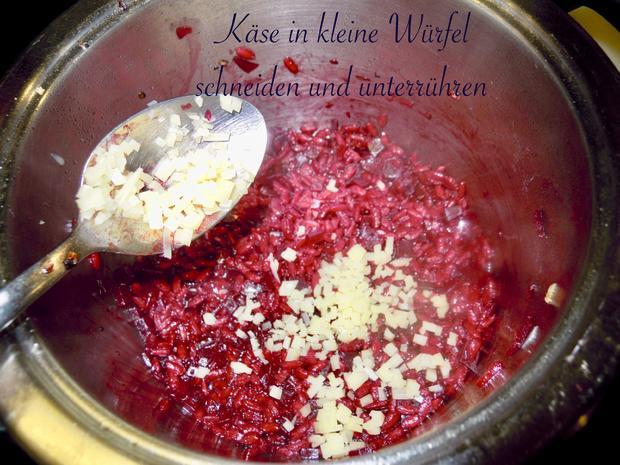 Risotto von der roten Rübe bzw. rote Beete - Rezept - Bild Nr. 5168