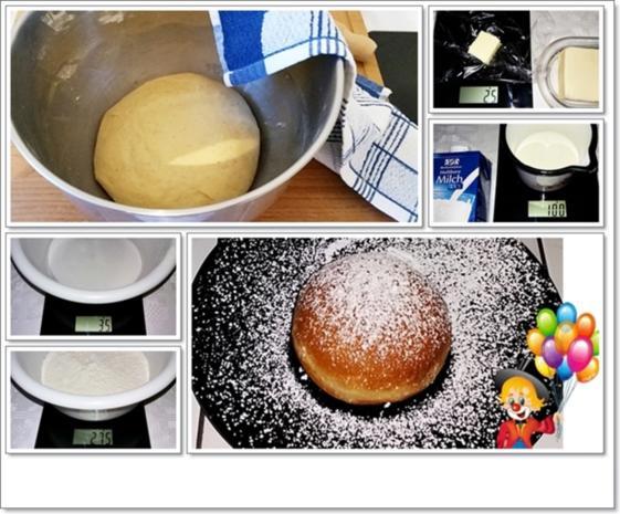 Gold gebackene  Faschingskreppel - Rezept - Bild Nr. 5175