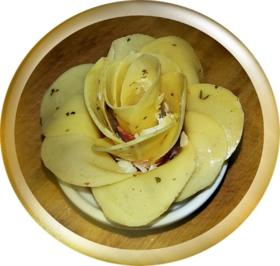"""""""Goldene Rose"""" für den Rosenmontag - Rezept - Bild Nr. 5172"""