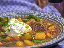 Orientalischer Kartoffel-Gemüsetopf mit Rindfleisch - Rezept - Bild Nr. 2