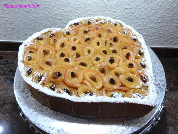 Murbeteig Rosen Kuchen Zum Valentinstag Rezept Kochbar De