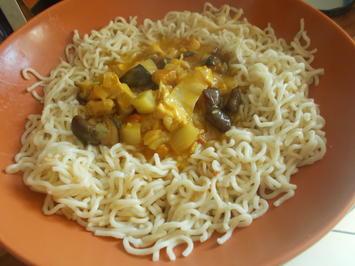 Rezept: Fleischgericht - Thai Mango-Kokos-Curry