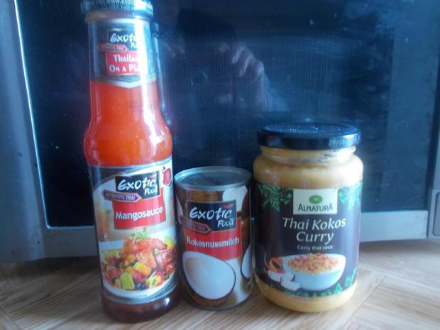 Fleischgericht - Thai Mango-Kokos-Curry - Rezept - Bild Nr. 5196