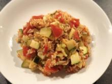 Zucchini-Tomaten-Reis - Rezept - Bild Nr. 2