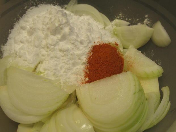 Kartoffeln: Kartoffelspieße mit Knusperzwiebeln - Rezept - Bild Nr. 5207