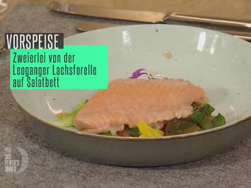 Rezept: Zweierlei von der Leoganger Lachsforelle