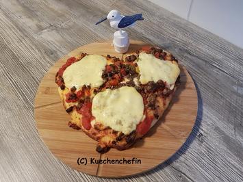 Valentinstags Pizza - Rezept - Bild Nr. 5201